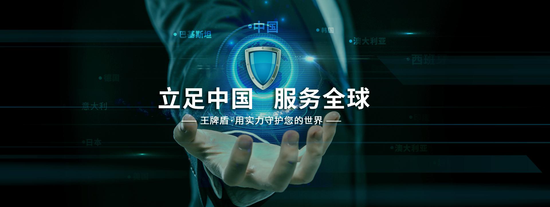 立足中国服务全球